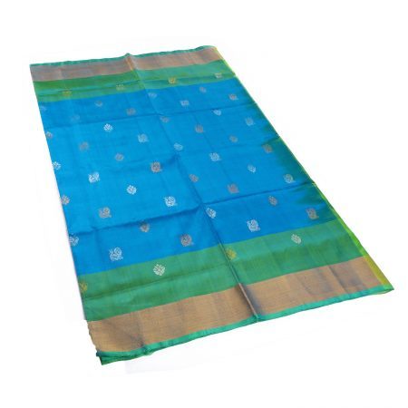 Uppada Big Border Butta Saree
