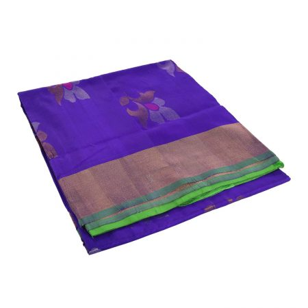 Uppada Jamdhi Flower Design Saree