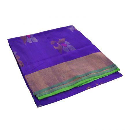Uppada Jamdhi Flower Design Saree