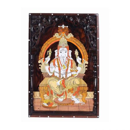 ROSEWOOD WALL PANNEL GANESH