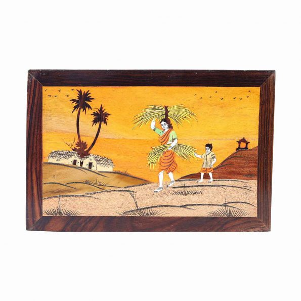 ROSEWOOD VILLAGE THEME  WALL PANNEL