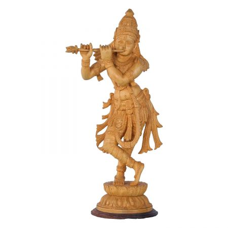WHITE WOOD KRISHNA