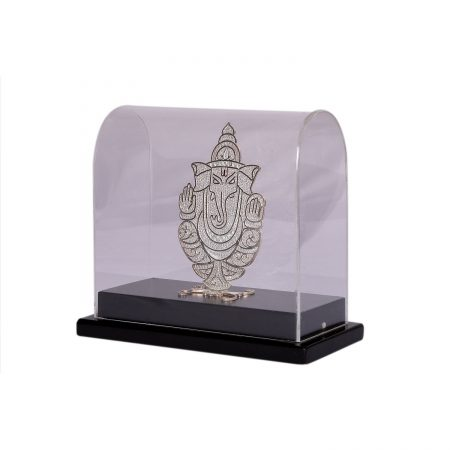 Silver Filigree Ganesh Big